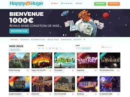 jeux casino happy hugo