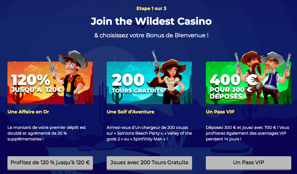 inscription accueil lucky luke casino