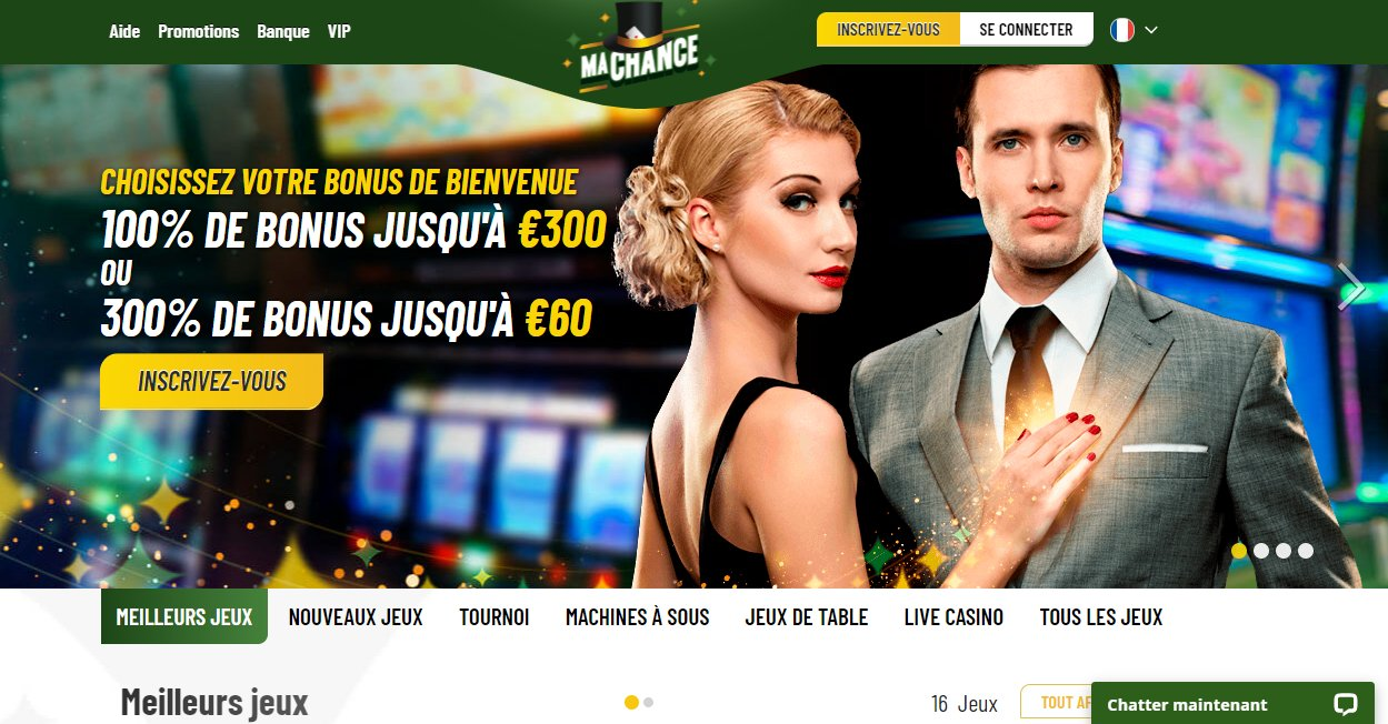 Accueil Machance Casino